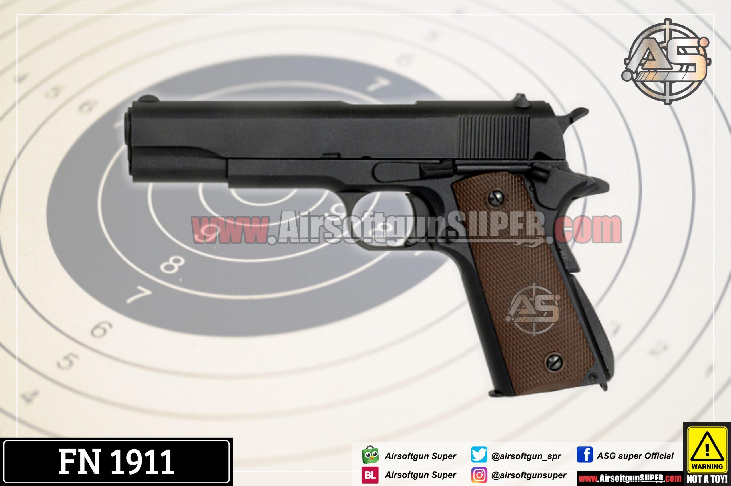 Fn 1911 Airsoft Gun Asgsuper
